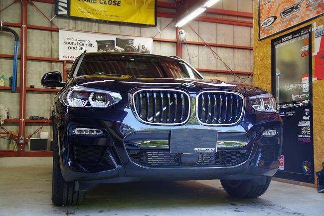 BMW X3 Grgo カーセキュリティ インストール